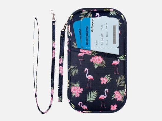 Homchen RFID Family Passport Wallet Holder.