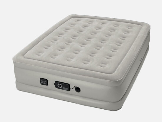Insta-Bed Raised Air Mattress with Never Flat Pump.