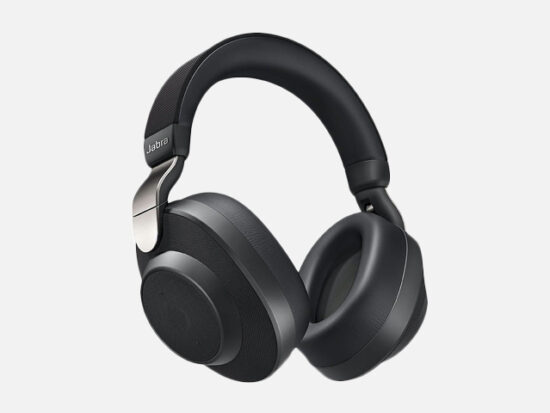 Jabra Elite 85h Wireless Noise-Canceling Headphones.