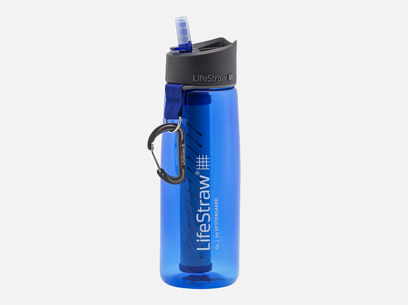 LifeStraw Go Water Filter Bottle.