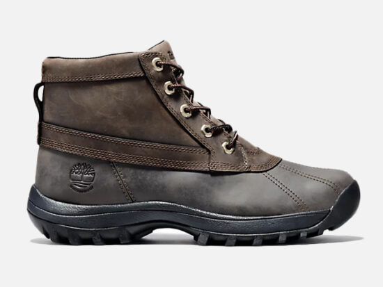 MEN'S CANARD MID WATERPROOF LEATHER BOOTS.