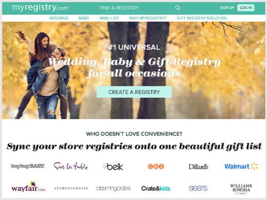 MyRegistry Wedding Registry.
