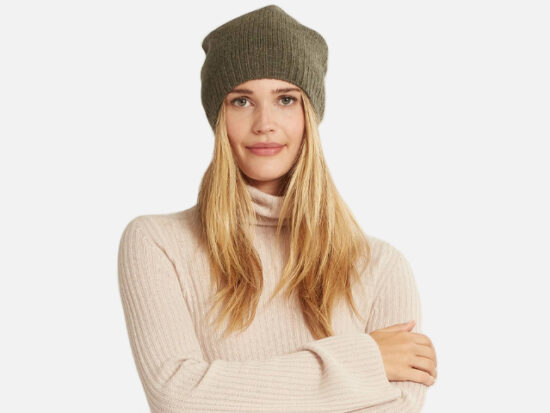 NakedCashmere PAT BEANIE.