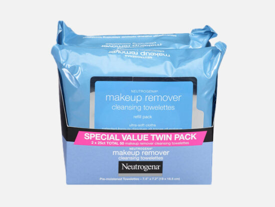 Neutrogena Makeup Remover Cleansing Towelettes.