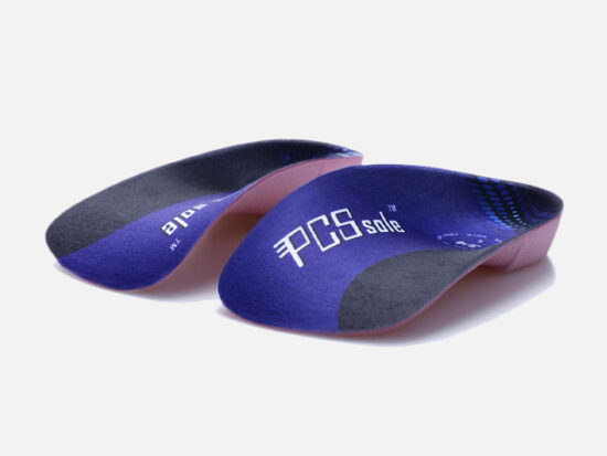 Pcssole's 3/4 Orthotics Shoe Insoles High Arch Supports.