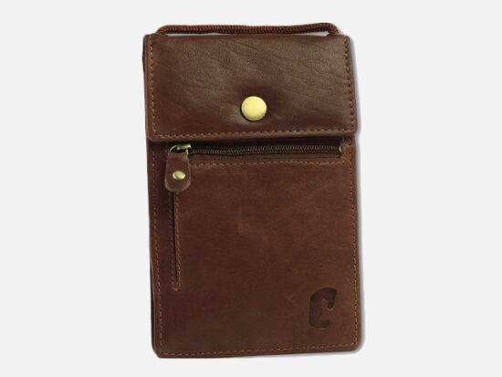 Safekeepers Leather Travel Wallet.