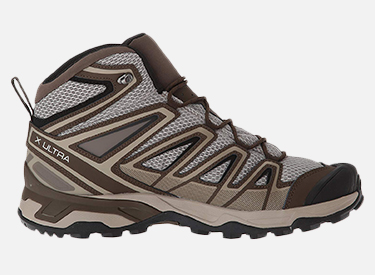 Salomon Men's X Ultra Mid 3 Aero Hiking Shoes.