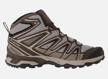 Salomon Men's X Ultra Mid 3 Aero Hiking Shoes.