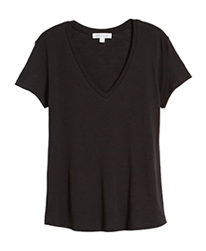 Black T-Shirt by Amour Vert