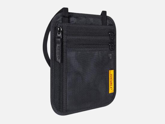 Venture 4th Slim Minimalist Design Neck Wallet.