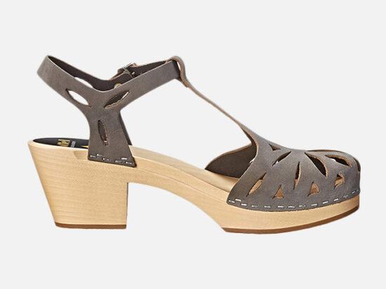 swedish hasbeens Women's Lacy Platform Sandal.