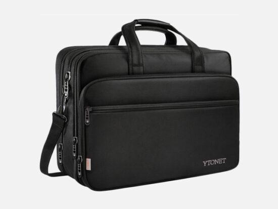 17 inch Laptop Bag, Travel Briefcase with Organizer.