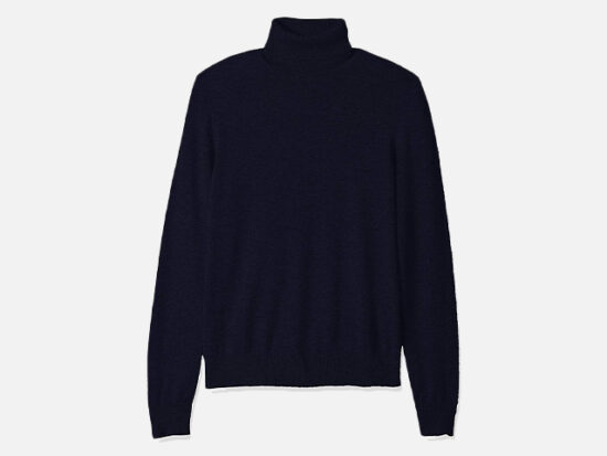 Amazon Brand - Buttoned Down Men's 100% Cashmere Turtleneck Sweater.