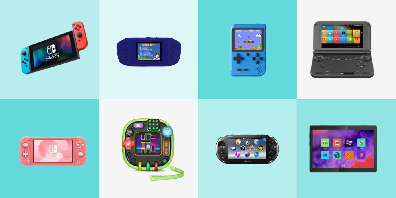 Best Handheld Game Consoles for Kids and Kids-at-Heart.