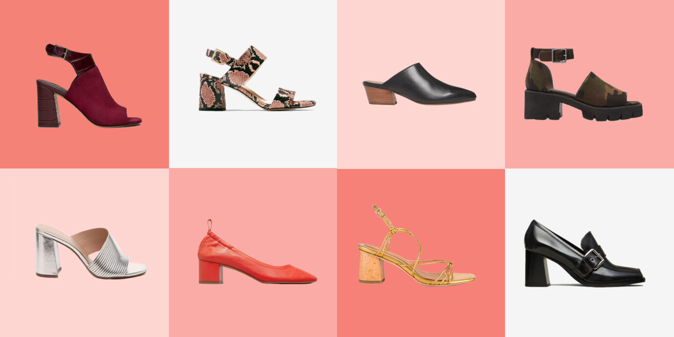 Block Heels You Can Sightsee In All Day Long.