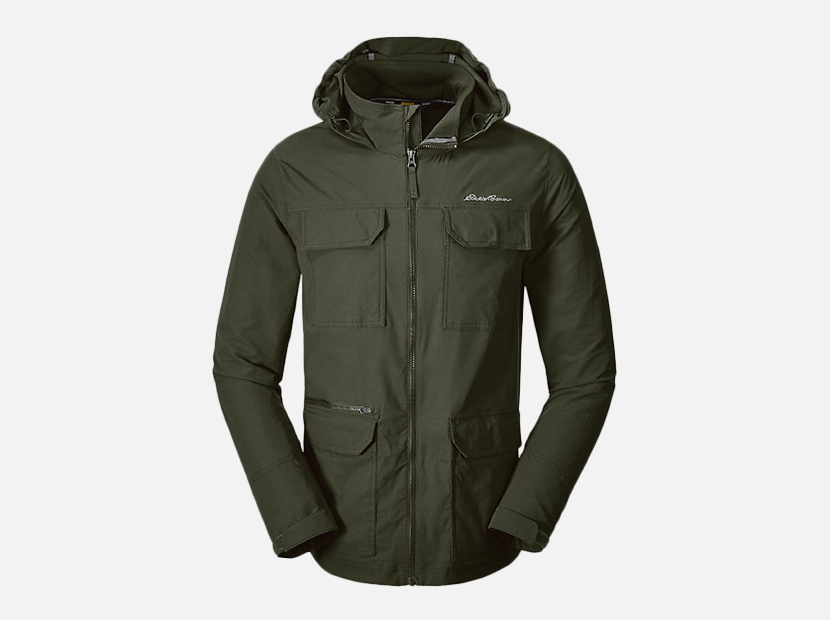 Atlas Stretch Hooded Jacket.