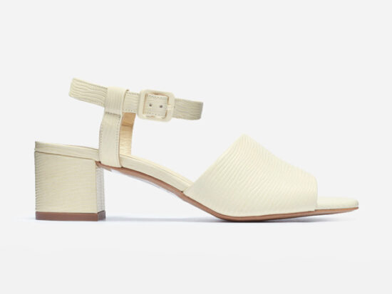 Everlane The Block Heel Sandal.