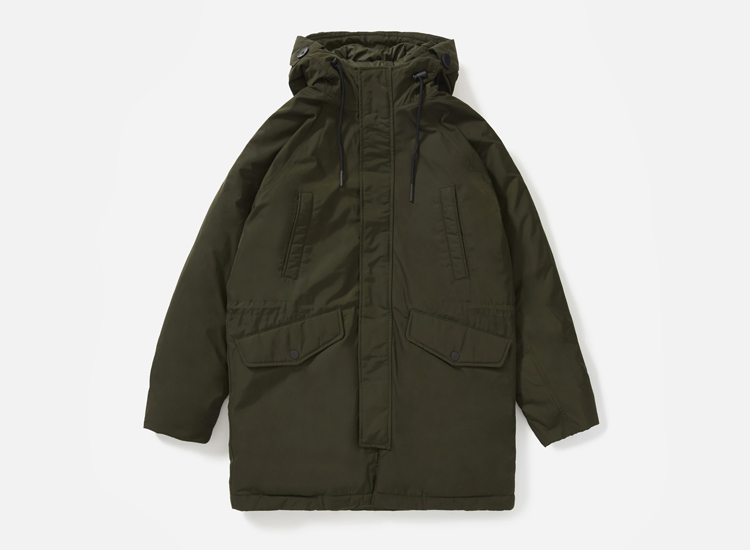 The ReNew Long Parka.