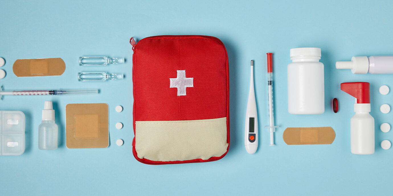 Everything to Stock in a Portable First Aid Kit.