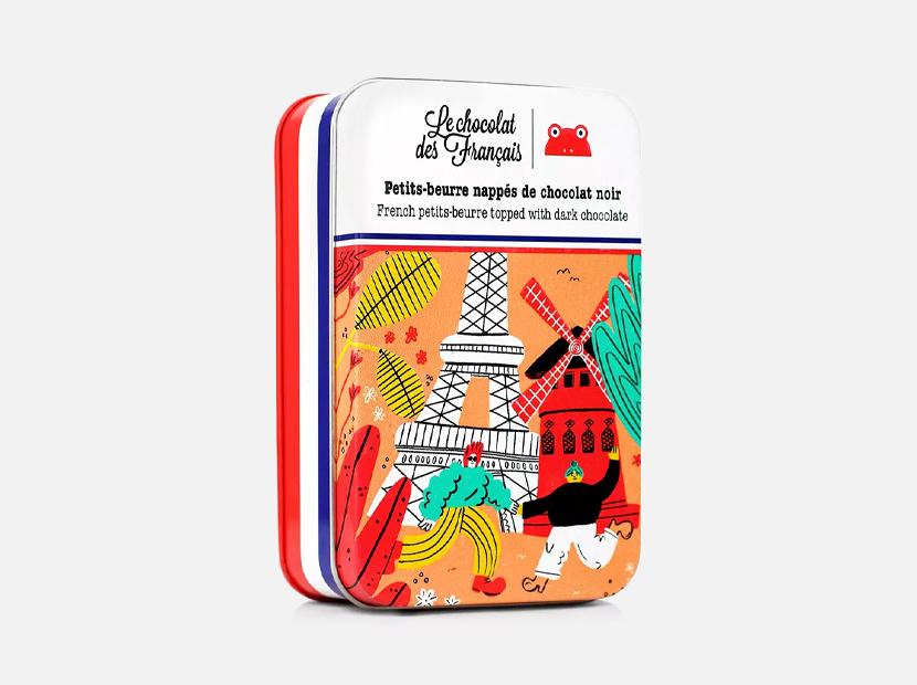 Le Chocolat des Francais Petits-Beurre Cookies.