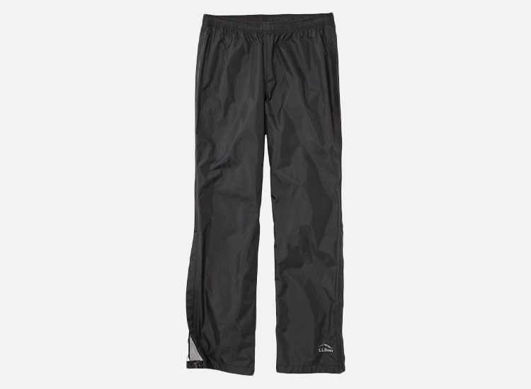 Men's Trail Model Rain Pants.