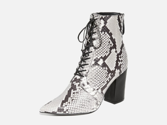 Self Portrait Amelia Lace Up Ankle Boots.