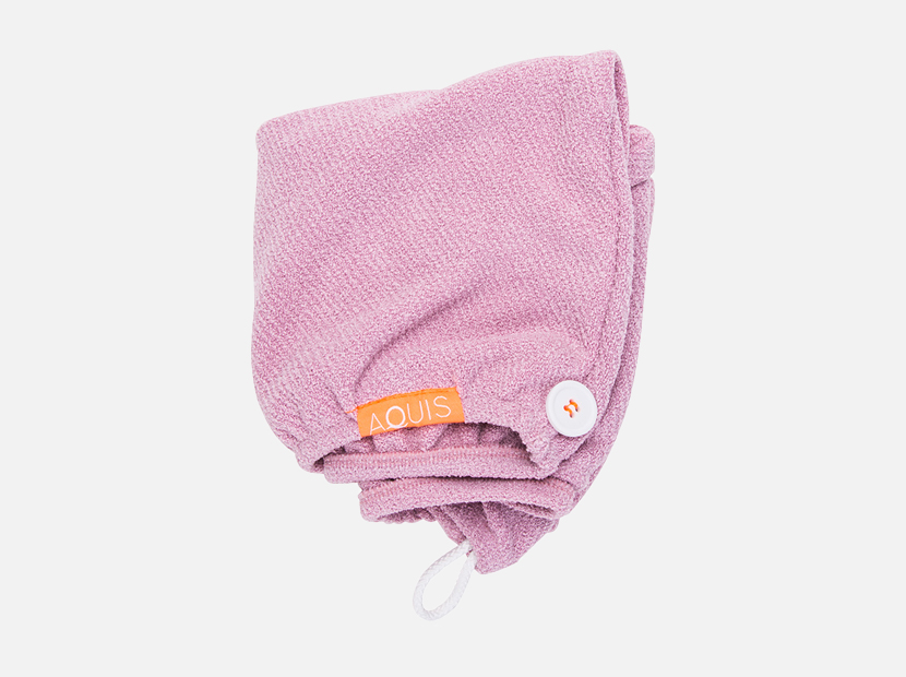 Aquis Lisse Luxe Hair Turban - Desert Rose (1 piece).