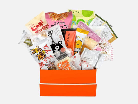 Bokksu snack box.