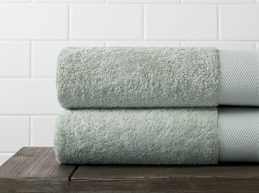 Plush Bath Towel.
