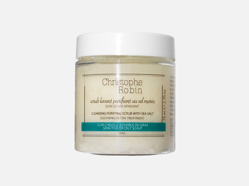 Cleansing Purifying Scrub with Sea Salt CHRISTOPHE ROBIN.