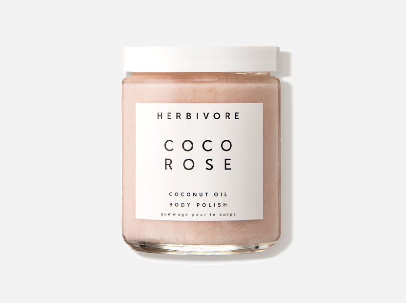 Herbivore Botanicals Coco Rose Coconut Oil Body Polish.