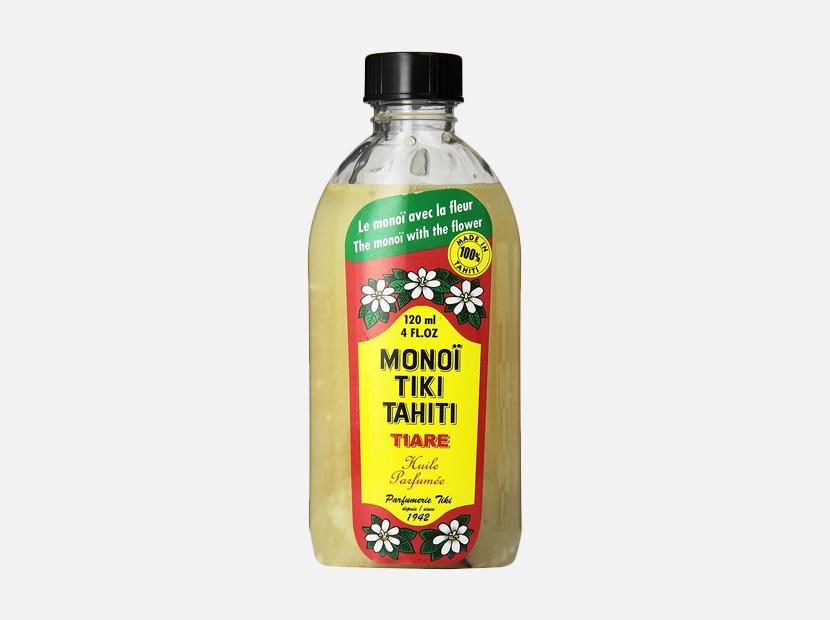 Monoi Tiki Tahiti Tiare Coconut Oil 4 Fluid Ounce.