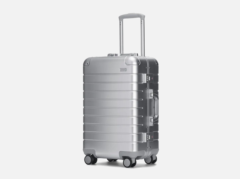 The Bigger Carry-On: Aluminum Edition.